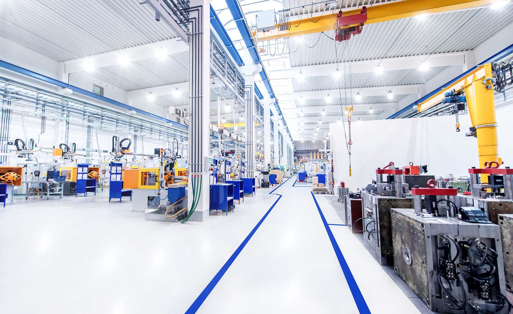 Unsere Pressen und automatisierte Produktionslinie in kunststoff-spritzguss